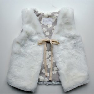 Cuddlebug DIY Faux Fur Vest