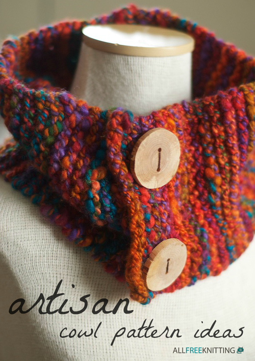 20 Artisan Knit Cowl Patterns
