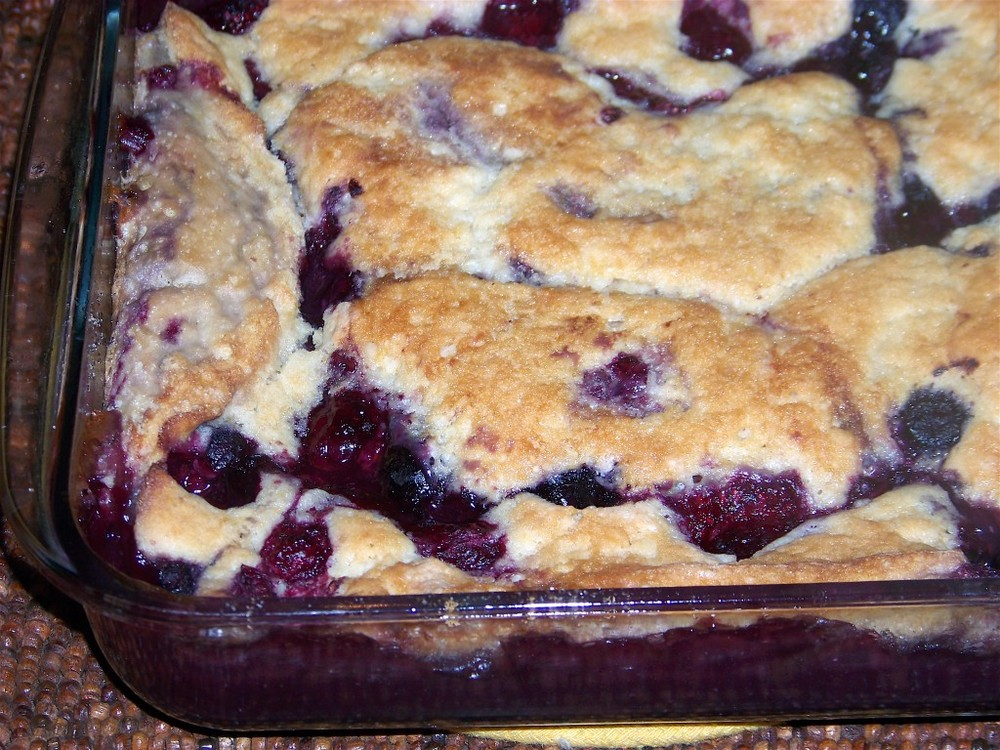 Luscious Berry Custard Cobbler Recipelion Com