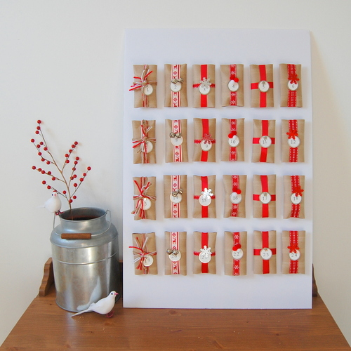 Totally Cute Toilet Paper Tube Advent Calendar