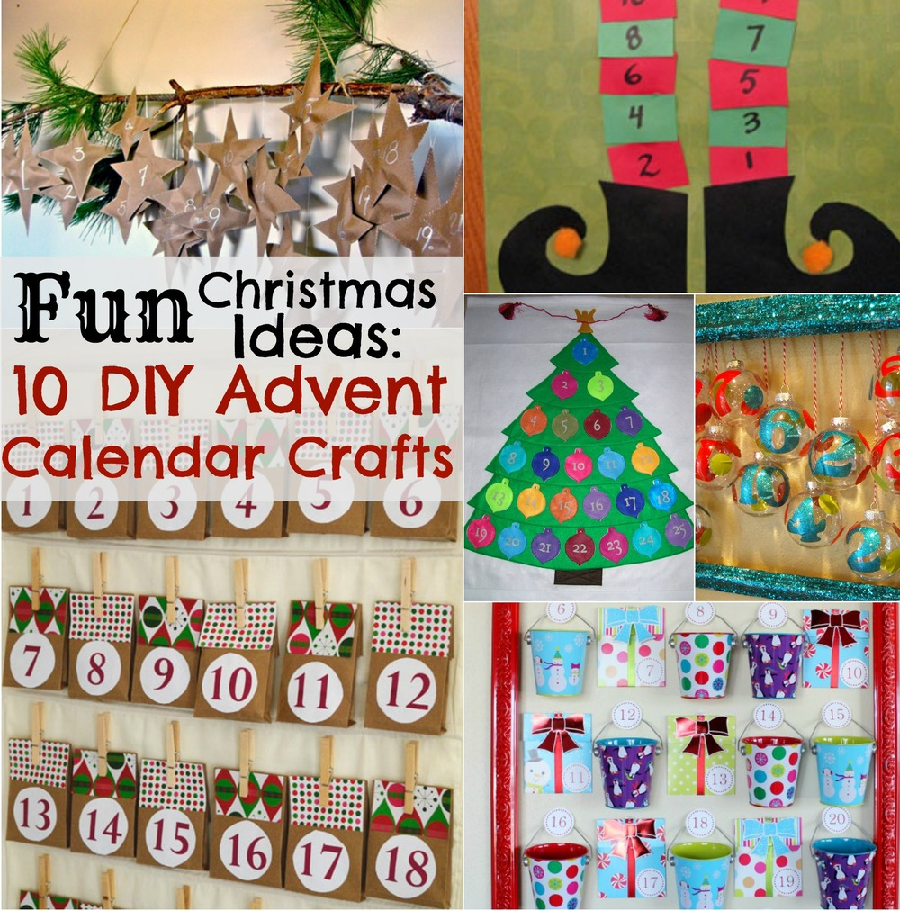 Fun christmas ideas 10 diy advent calendar crafts for All free holiday crafts
