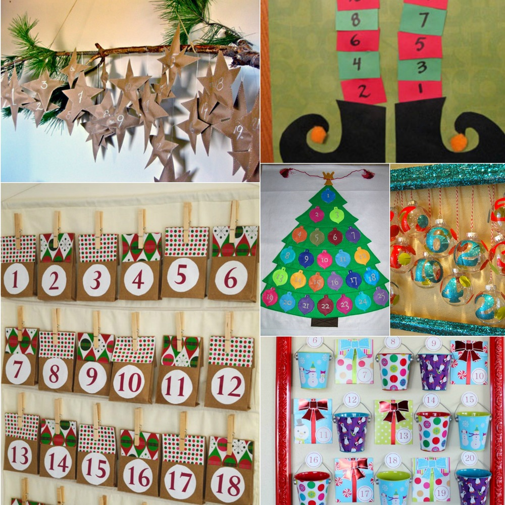 Fun christmas ideas 10 diy advent calendar crafts for Advent decoration ideas