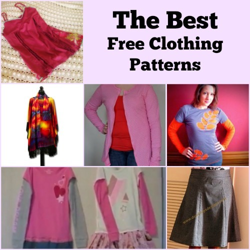 17 Free Clothing Patterns Favecrafts Com