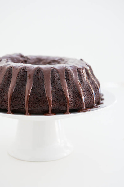 Secret Ingredient Chocolate Bundt Cake