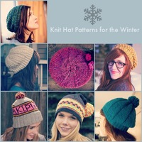 66 Knit Hat Patterns for the Winter