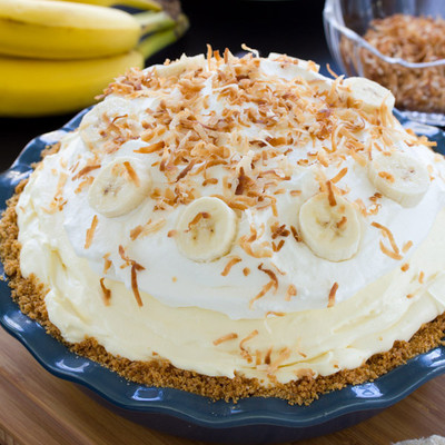 Cloud Nine Banana Cream Pie