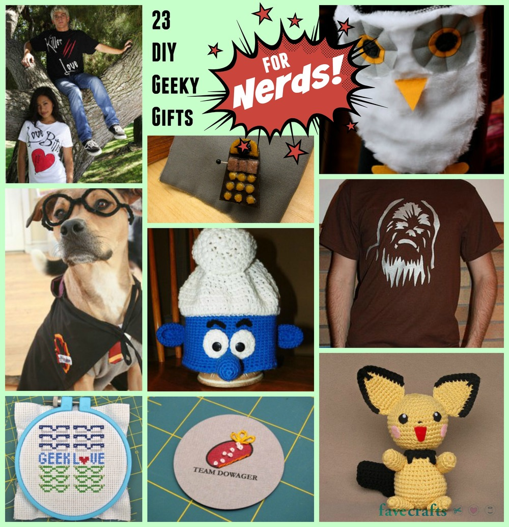cool craft ideas for gifts 23 diy geeky gifts for nerds favecrafts 6074