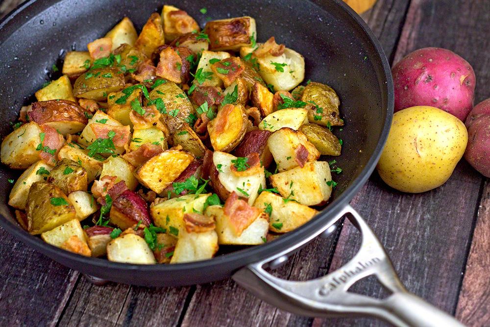 One Pan Roasted Potatoes Recipelion Com