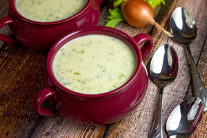 30-Minute Cream of Broccoli Cheese Soup
