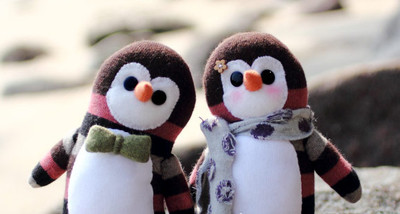 Cuddly Wuddly Sock Penguins