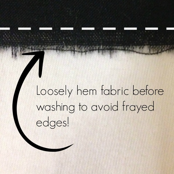 Before You Pre-Wash Sewing Fabric