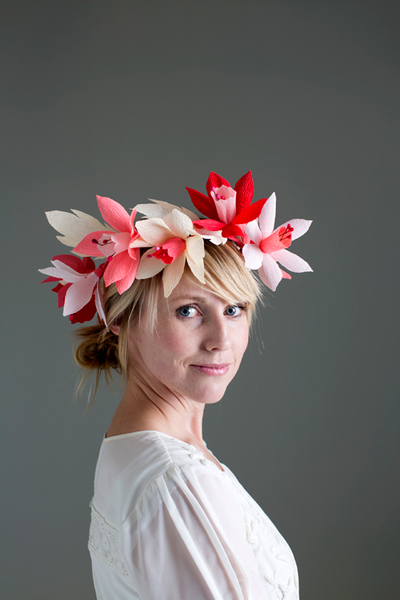 Lovely Paper Flower Crown