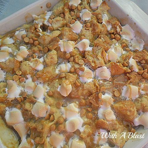 Chocolate Caramel Bread Pudding | RecipeLion.com