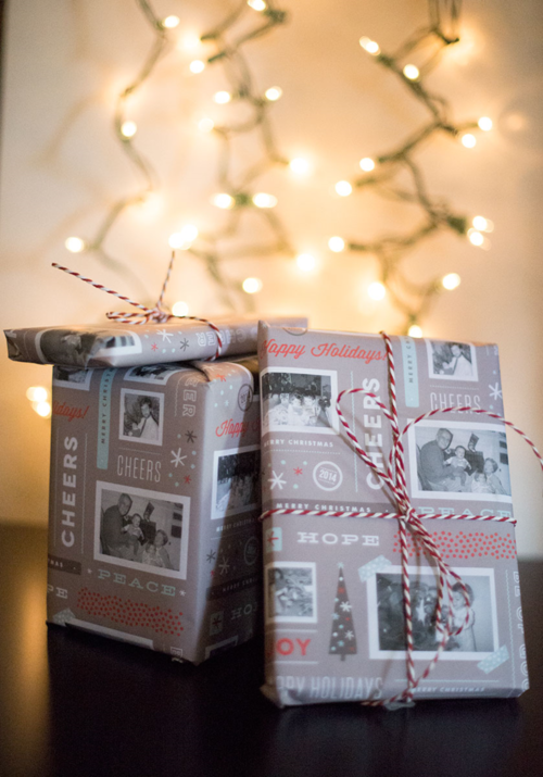 Photo Memory Christmas Wrap