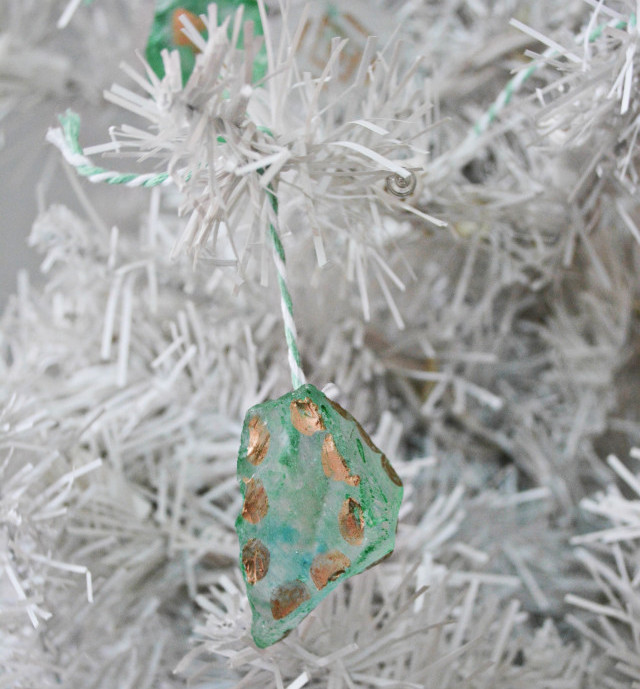 Chic Sea Glass Ornament Allfreeholidaycrafts Com