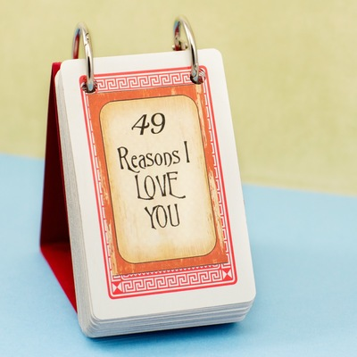 49 Reasons I Love You Homemade Gift
