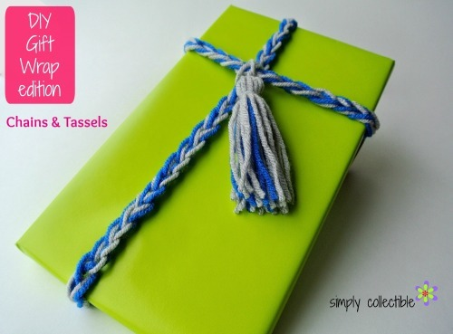 Chains and Tassles Gift Wrap