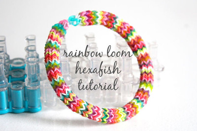 Colorful Hexafish Bracelet