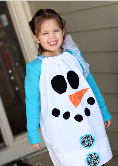 Sew Simple Snowman Dress