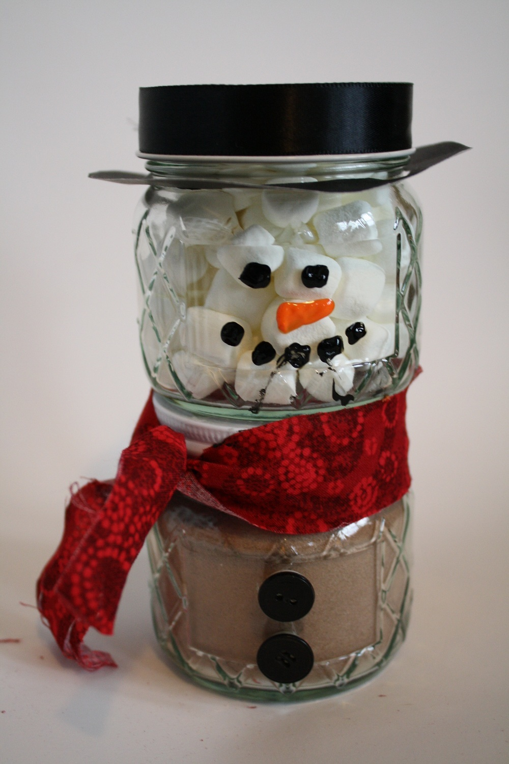 Cozy canned cocoa snowman allfreeholidaycrafts
