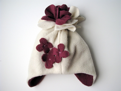 Snowblossom Fleece Hat