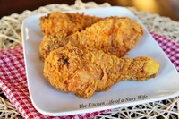 Crispy Buttermilk Fried Chicken