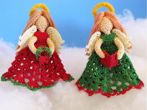 Little Angels Christmas Ornaments 2