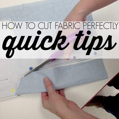 How to Cut Fabric Perfectly