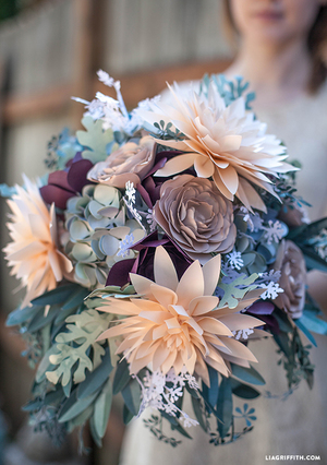 DIY Romantically Rustic Bridal Bouquet