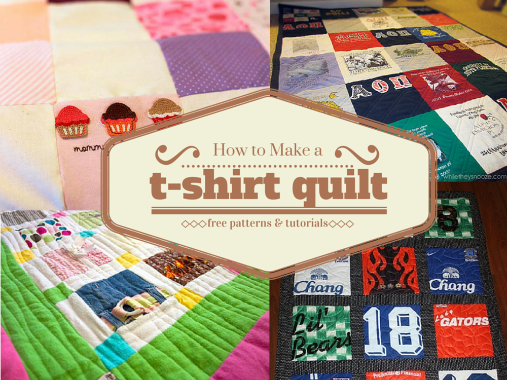 How To Make A T Shirt Quilt Favequilts Com