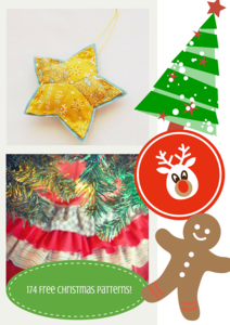 174 Christmas Quilt Patterns and Projects