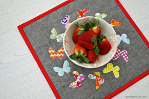 Butterfly Snackmat