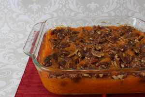 Pecan-Pleaser Sweet Potato Casserole