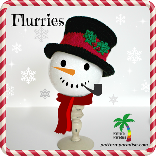 Full of Flurries Holiday Hat