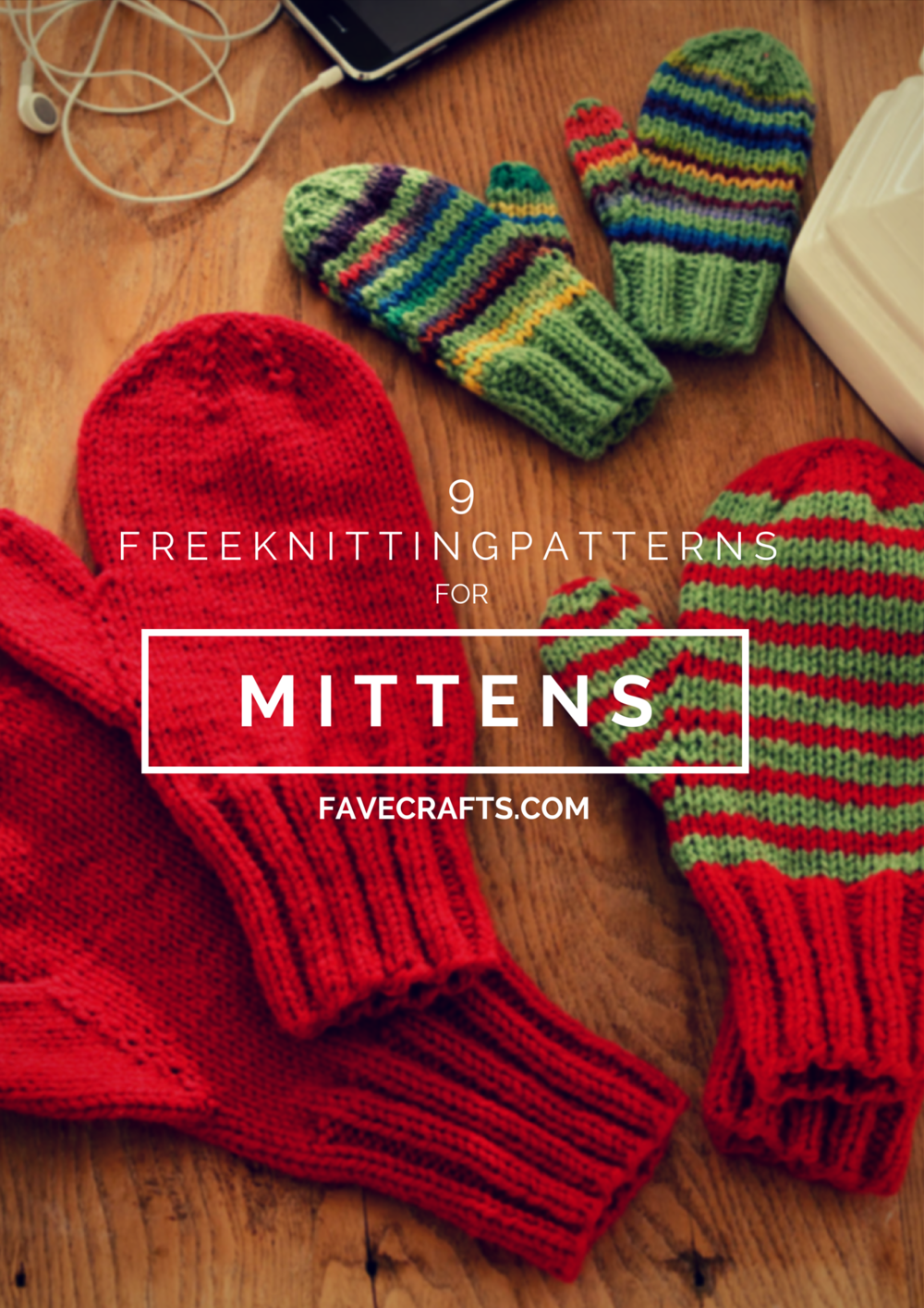 16 Free Knitting Patterns for Mittens FaveCrafts.com