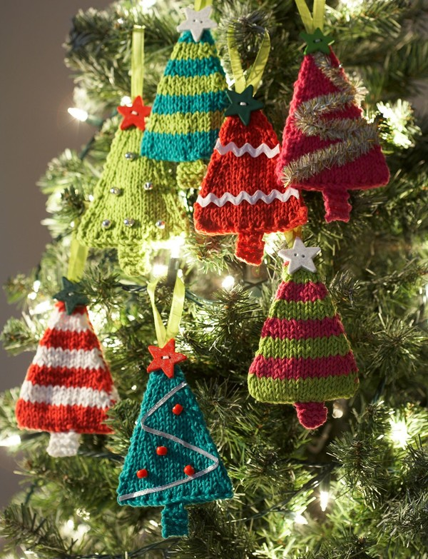 Tiny Tree Ornaments