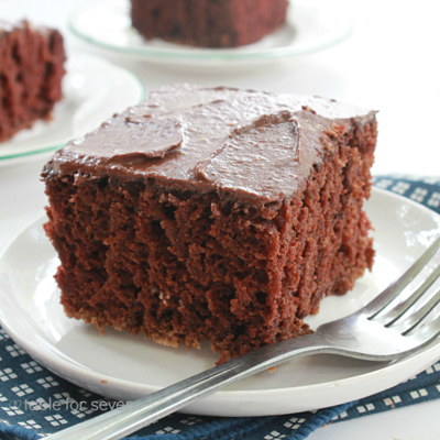 Chocolate Cockeyed Cake