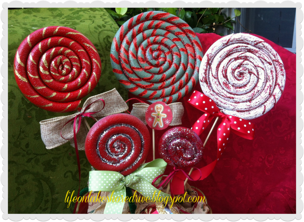 Christmas Lollipop Ornament | AllFreeChristmasCrafts.com