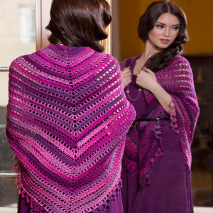 Unforgettable Top Down Shawl