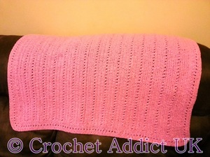 Pretty in Pink Baby Blanket
