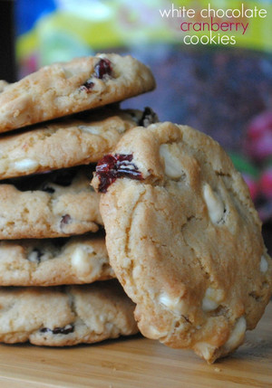 Unforgettable White Chocolate Cranberry Cookies