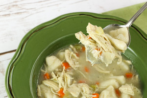 Homemade Cracker Barrel Chicken and Dumplings