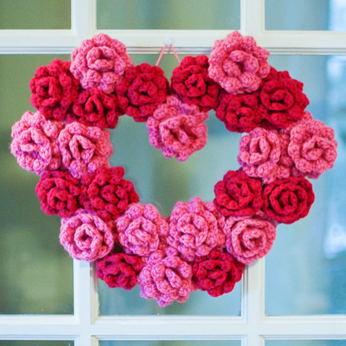 Gorgeous Rose Wreath