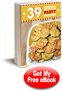 30 Appetizer Recipes and Party Pleasers free eCookbook