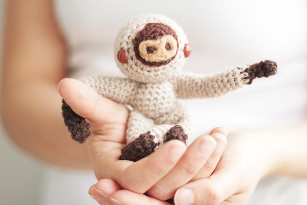 Amigurumi Baby Sloth AllFreeCrochet.com