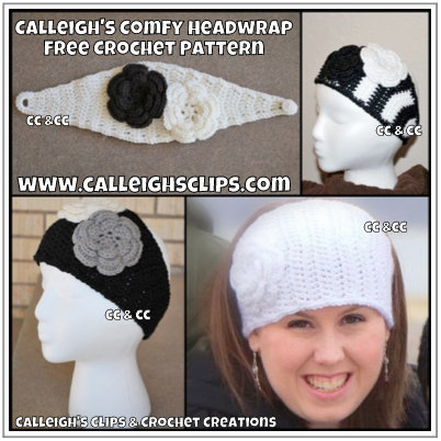 Comfy Headwrap Crochet Pattern