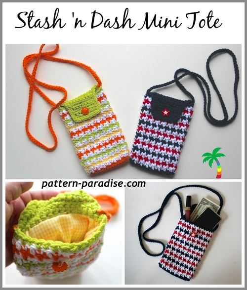On-The-Go Crochet Tote