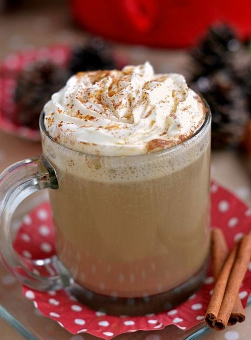 Festive 5-Ingredient Gingerbread Mocha