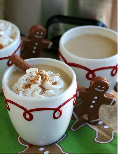 Starbucks Copycat Eggnog Lattes
