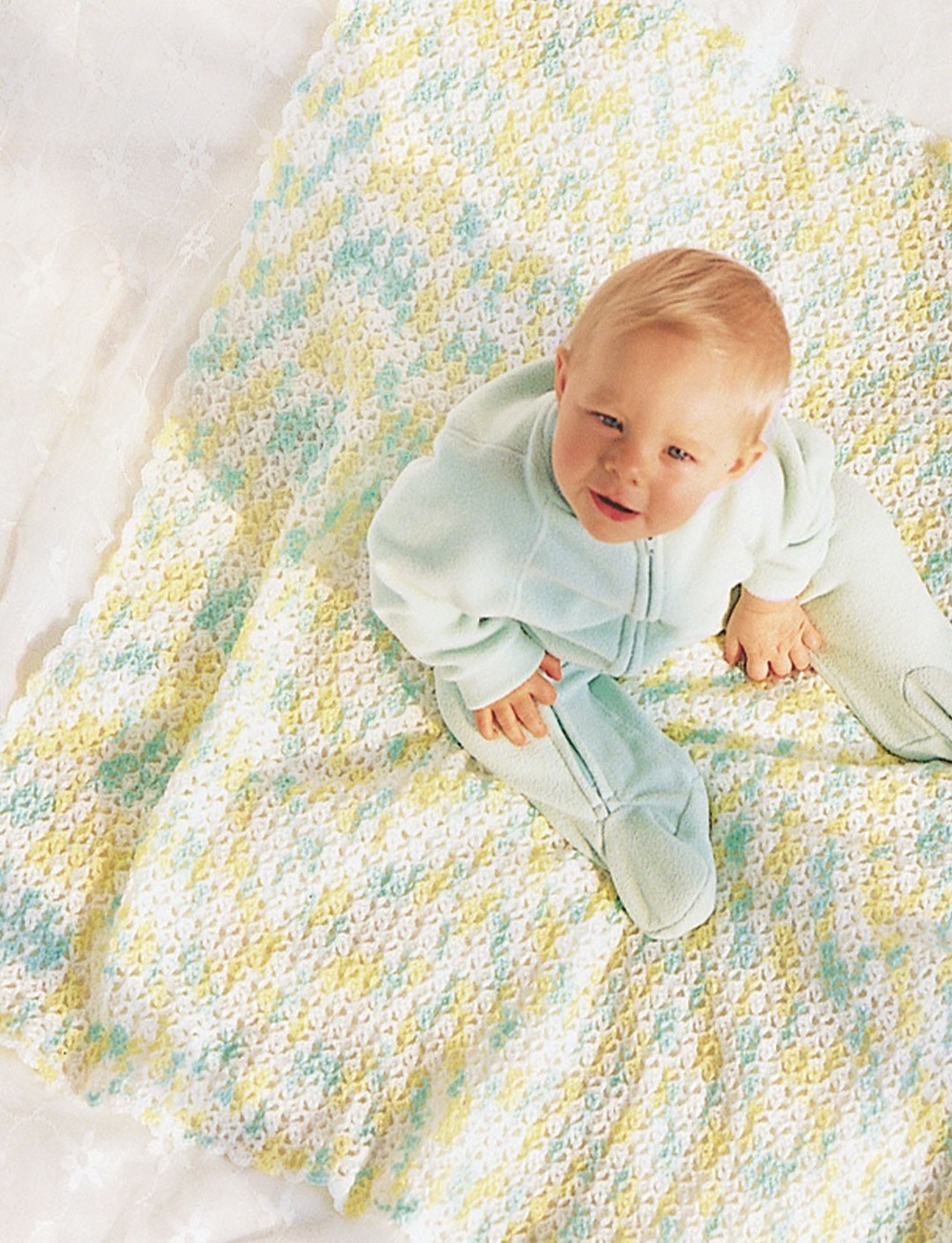 Baby Afghan Crochet Pattern Favecrafts Com